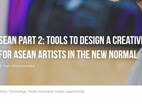 """Slure Project featured in """"Art in ASEAN"""" article in """"Change Magazine"""" by Diinsider"""