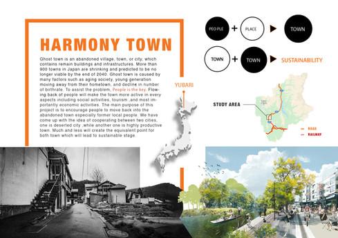 """Harmony Town""- 01"