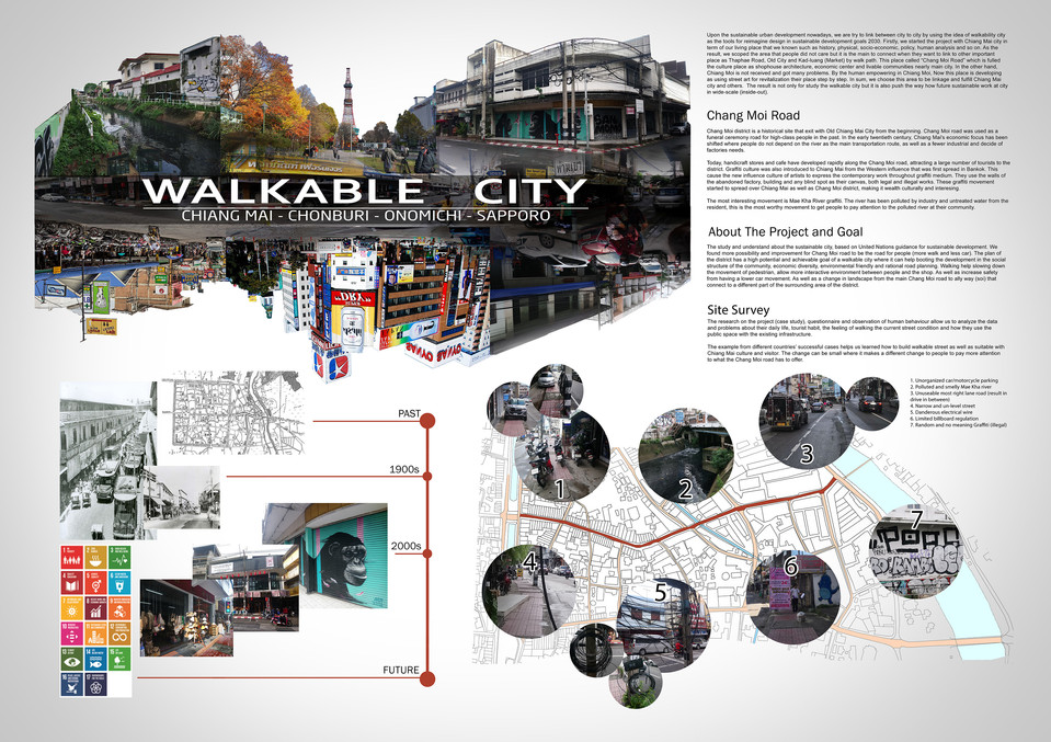 """Walkable City"" - 01"
