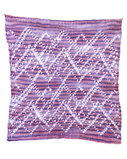 Striped Lace Knit