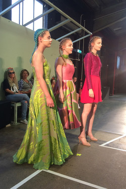 Collection modelled at Fashion Show