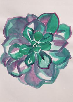 Ink Succulent