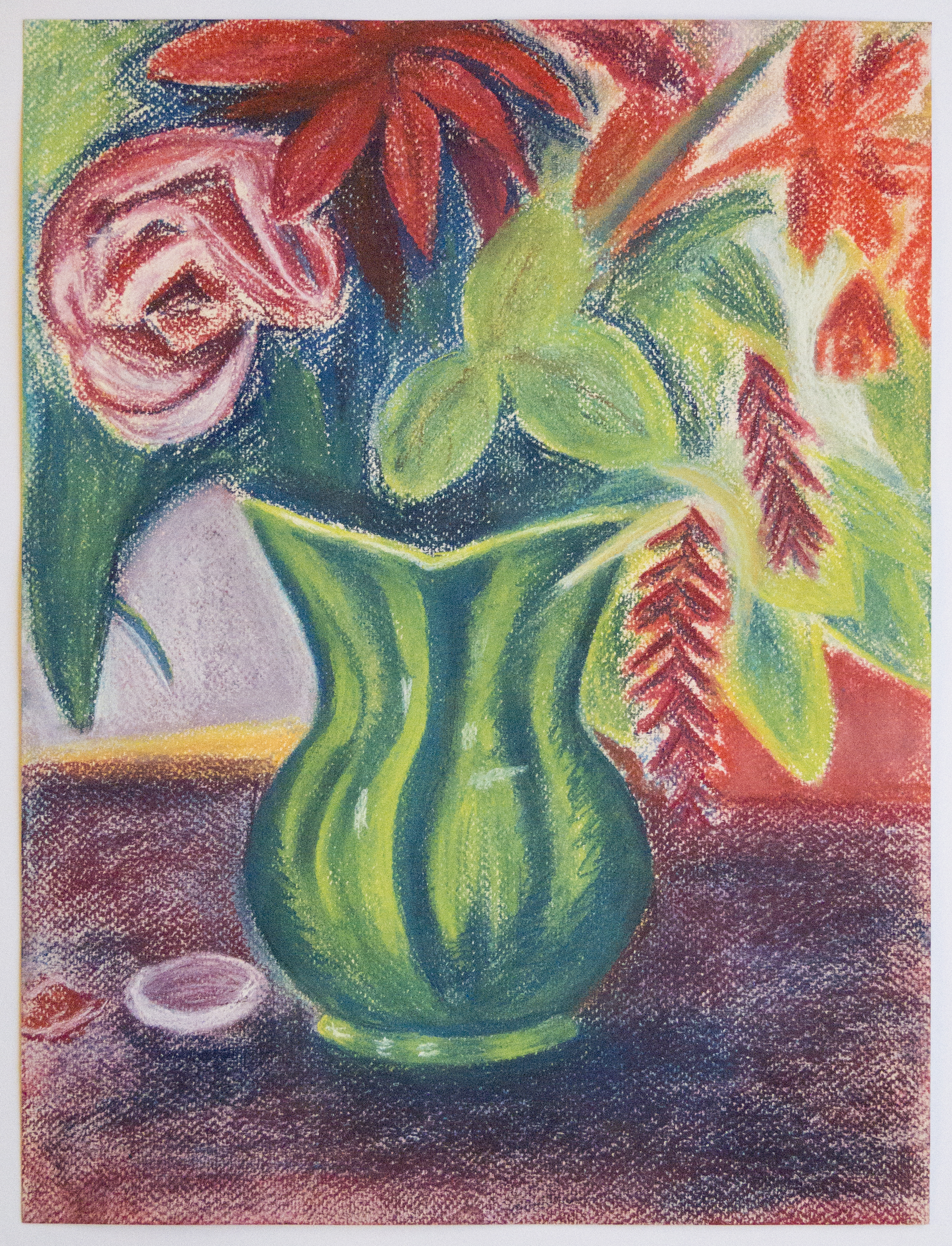 Flowers and Jug Still Life