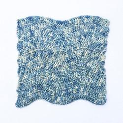 Cyan Shell Crochet