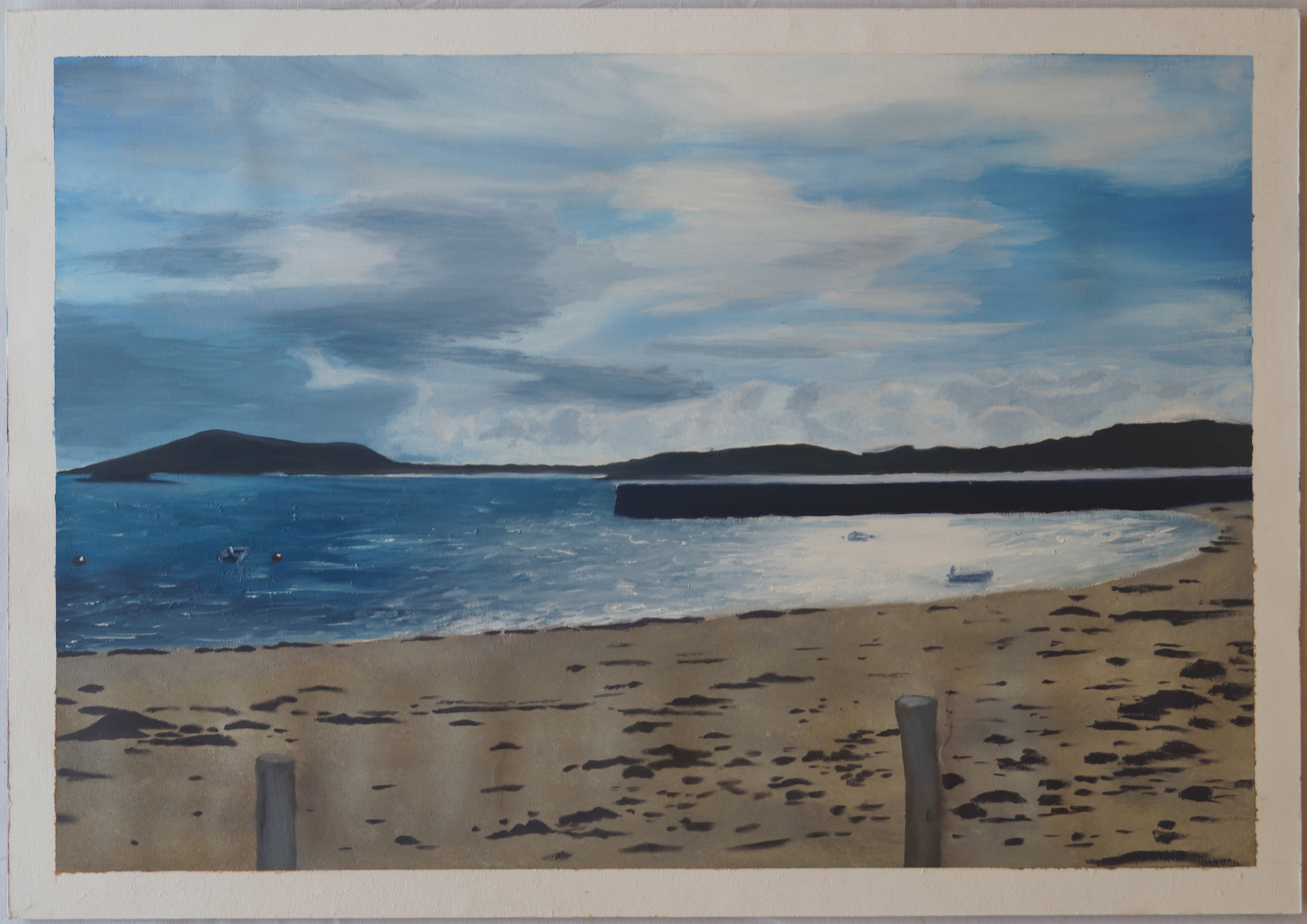 Isles of Scilly - Tresco - Painting