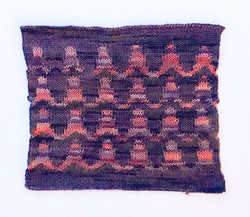 Lace and Fair Isle samples copy