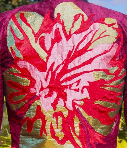 Camellia Jacket Detail