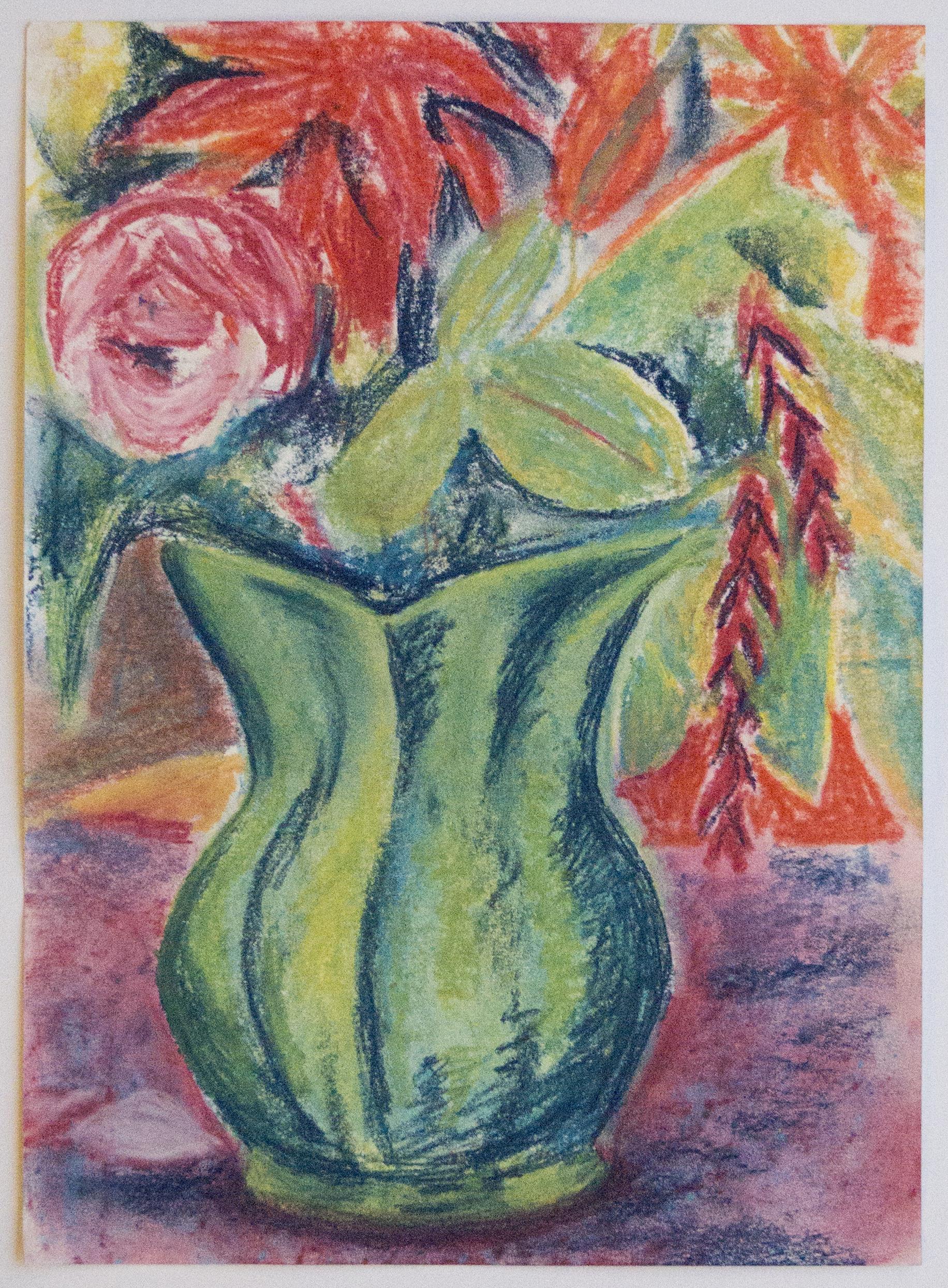 Flowers and Jug Still Life