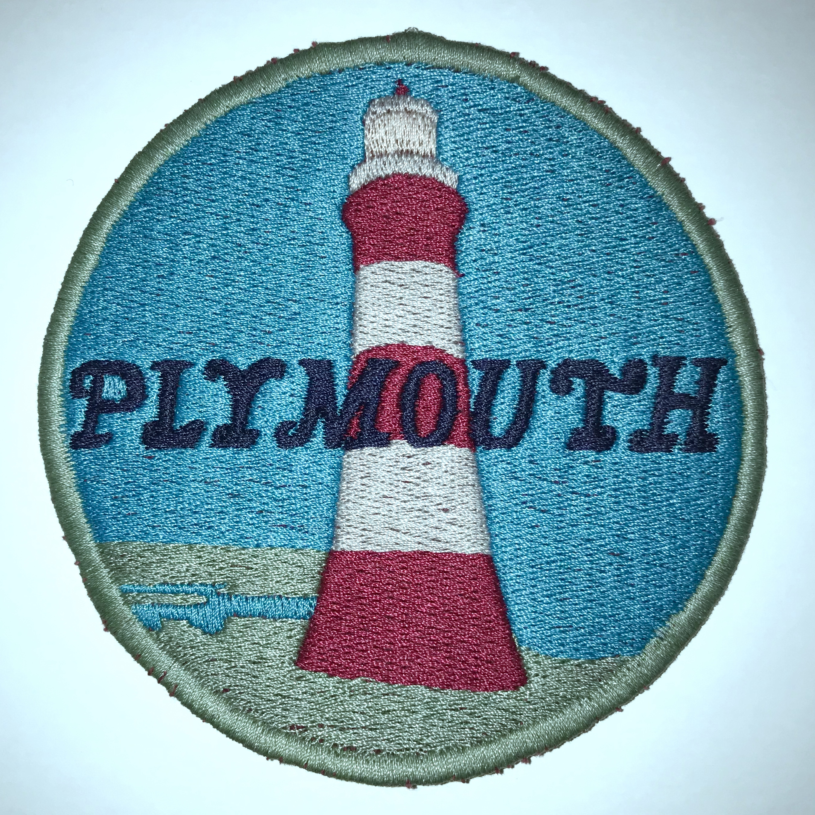 Plymouth Souvenir - Badge