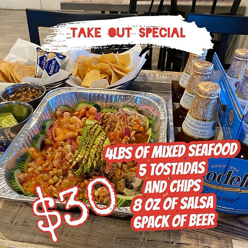 SeaFood Mixed Family Pack