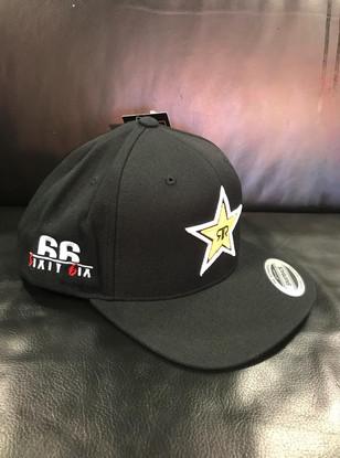 6IXTY 6IX logo Rockstar cap