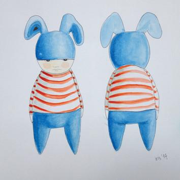 Boy Watercolors