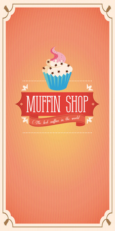 Muffin shop Menu