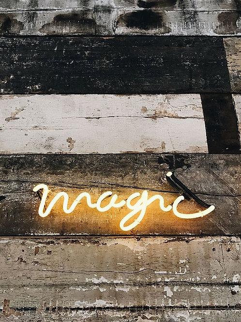 Neon ljós - Magic