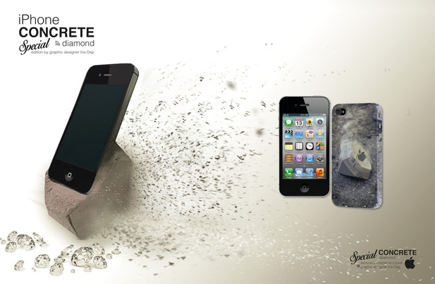 iPhone Concrete