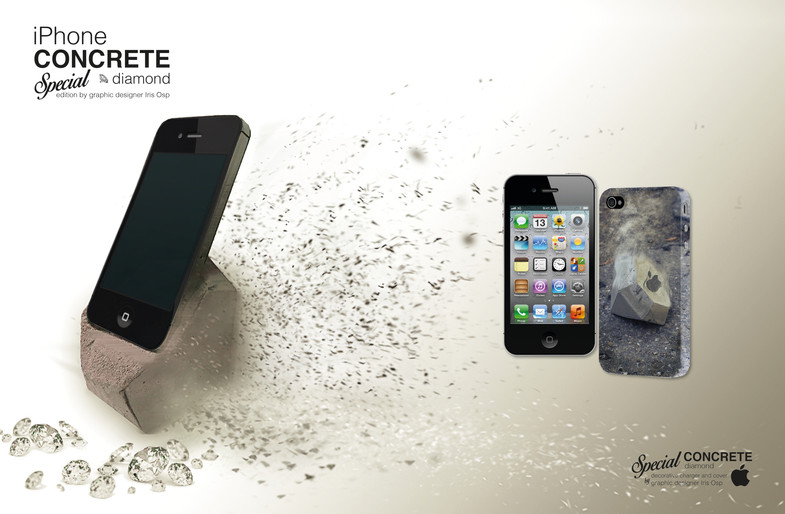 iPhone Concrete charger