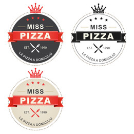 Miss Pizza logo
