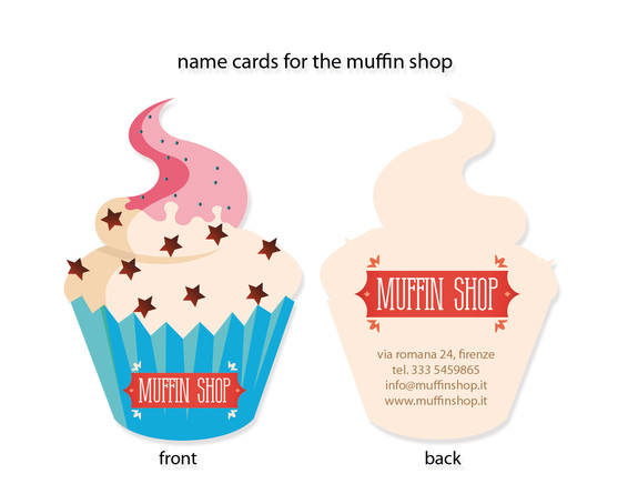 Muffin shop Cards