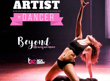 Athlete + Artist = Dancer