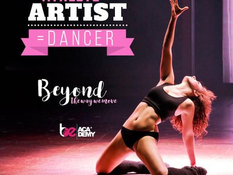 Athlete + Artist = Dancer