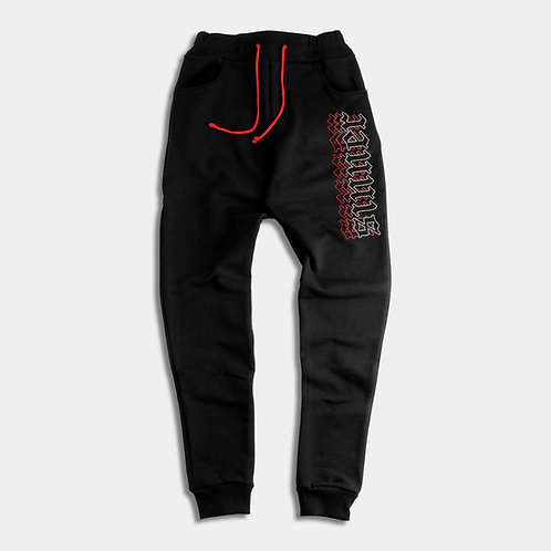 SINNER - Black sweatpants