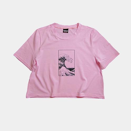 WAVE - pink croptop