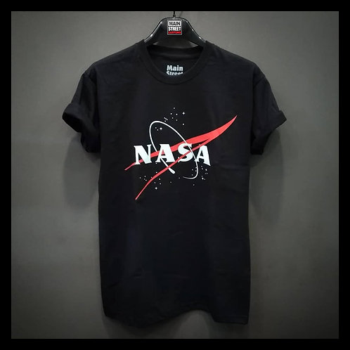 NASA - T-shirt nera unisex