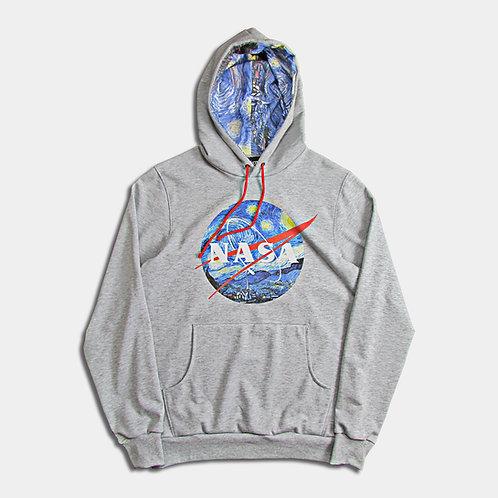 NASA Van Gogh - Felpa mèlange unisex