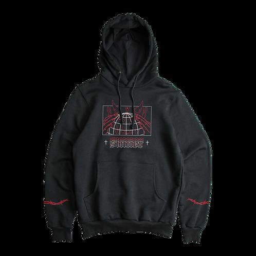 MIDNIGHT SINNER - black hoodie