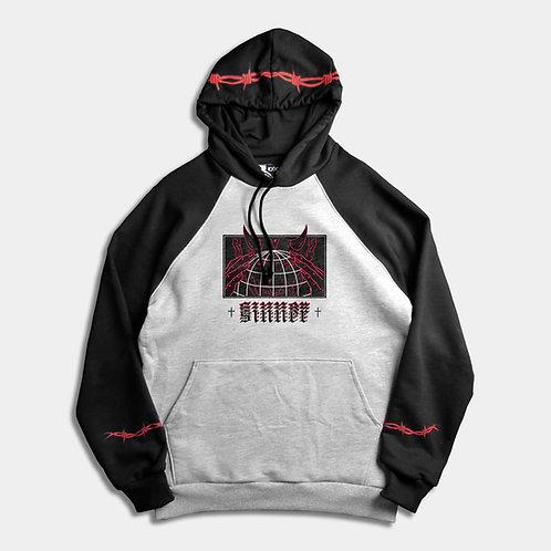 SINNER - raglan hoodie