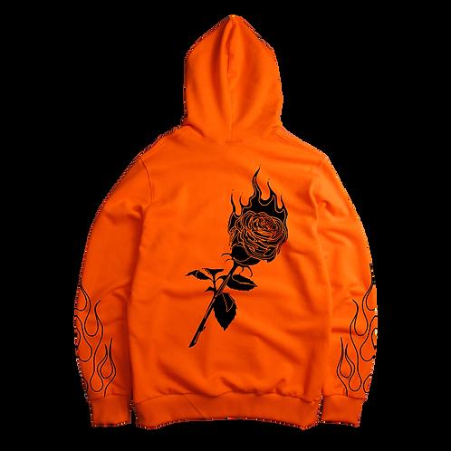 FIRESTARTER - orange hoodie