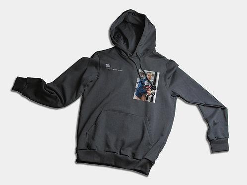 011 - Black hoodie