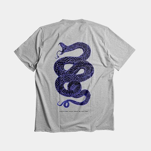 Snake - mèlange tee unisex