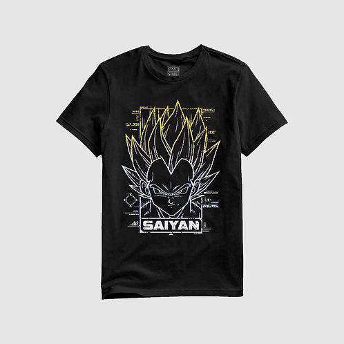 SAIYAN - t-shirt unisex