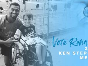 Ronaldo Mulitalo nominated for NRL's Ken Stephen Medal