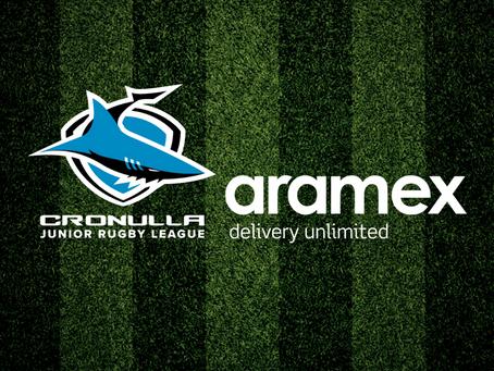 Aramex becomes major sponsor of the Cronulla JRL