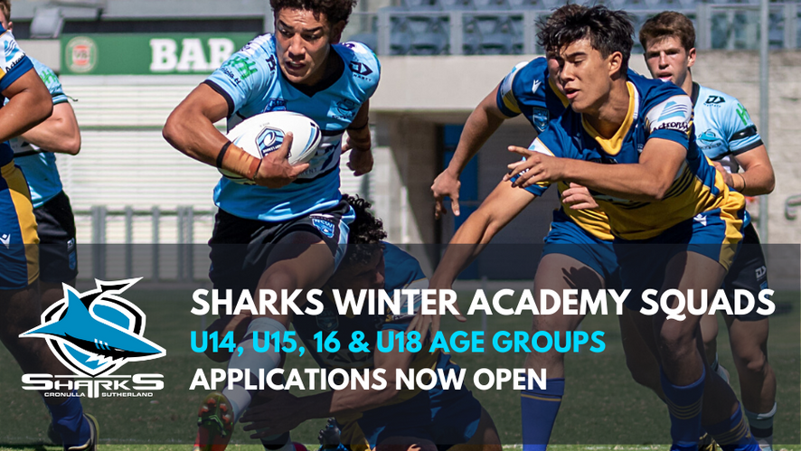 Winter Sharks Academy Trial Applications Now Open
