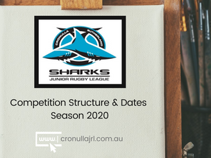 Competition Dates & Structure for Season 2020