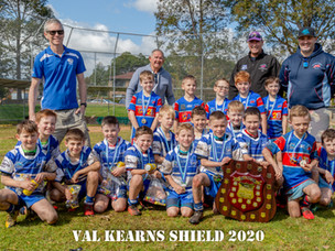 Bosco wins the 2020 Val Kearns Shield