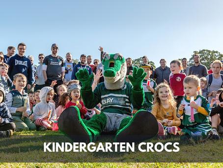 Dads & Kids bond with Kindergarten Crocs