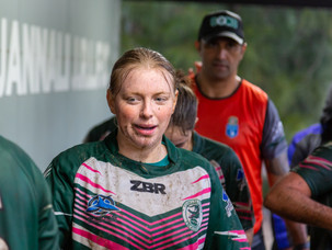 Women's Rugby League Shines in the Driving Rain