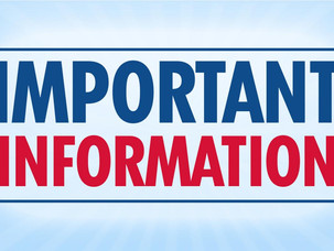 Important Information - U17s age group reinstated