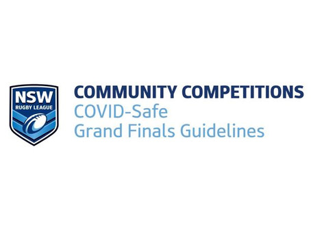 Cronulla JRL 2020 Grand Final Guidelines