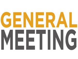 General Meeting - Tue, 28 January 2020