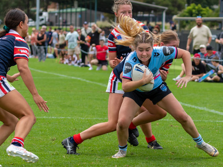 Sharks Tarsha Gale fall short against the Roosters