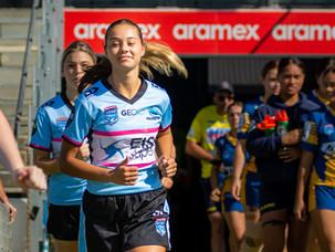 Tarsha Gale Sharks head into finals despite last round loss to Parramatta