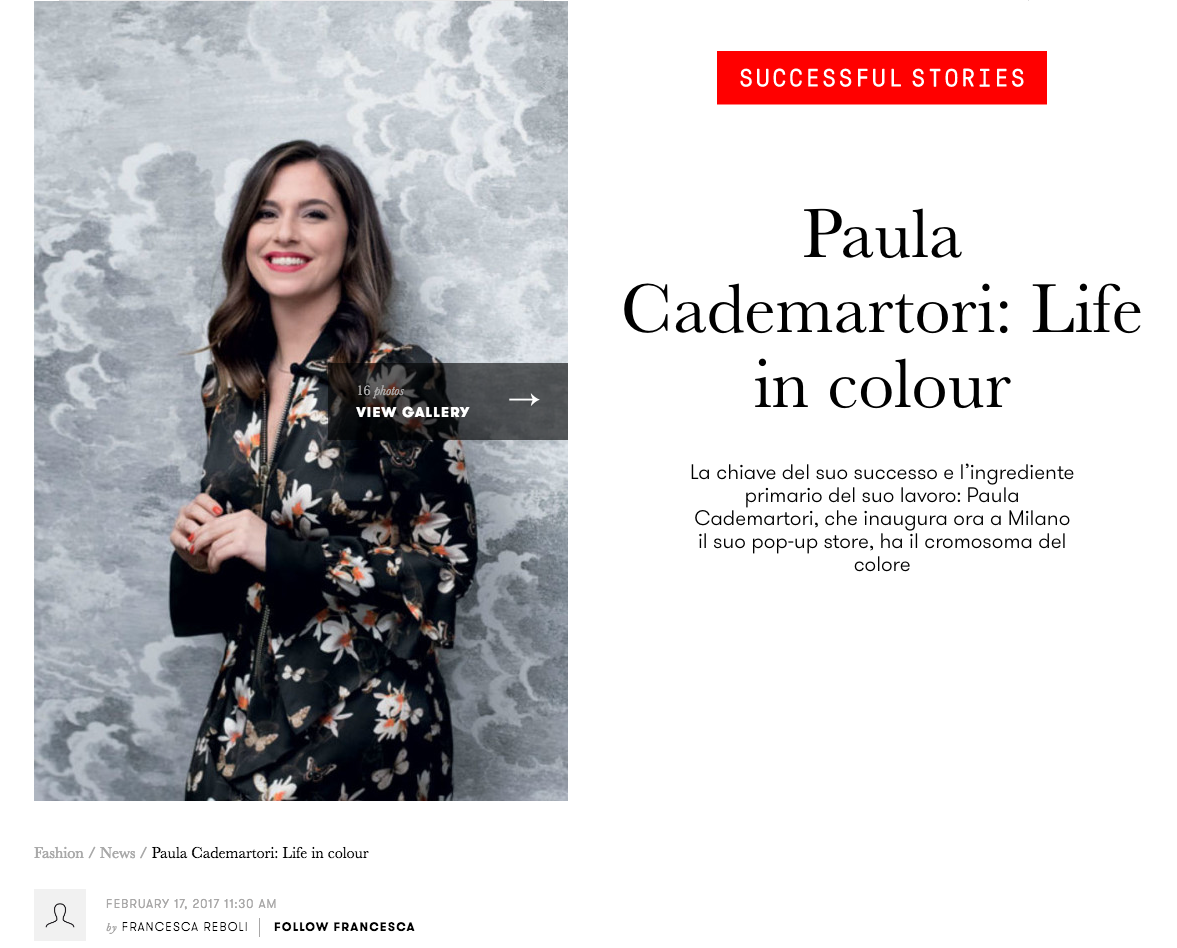 Paula Cademartori Pop-up Milano