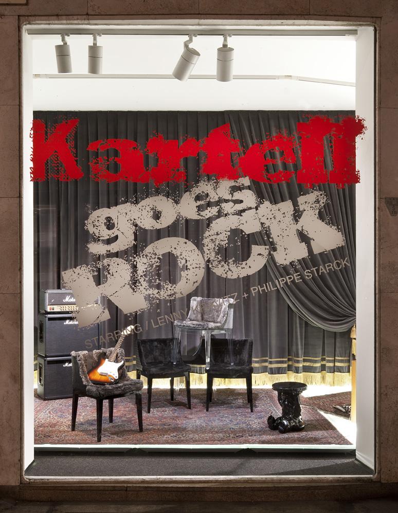 Kartell Goes Rock
