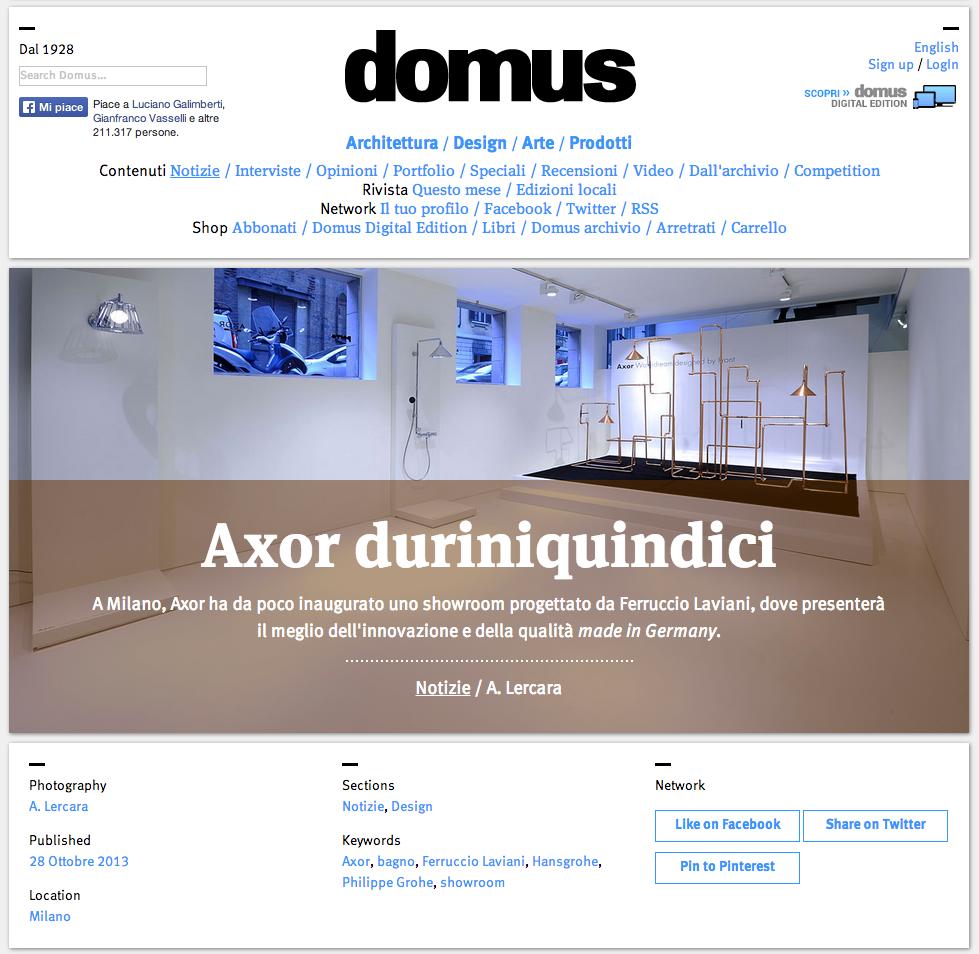 Domus - Axor duriniquindici