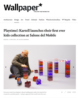 Clip Clap Table for Kartell